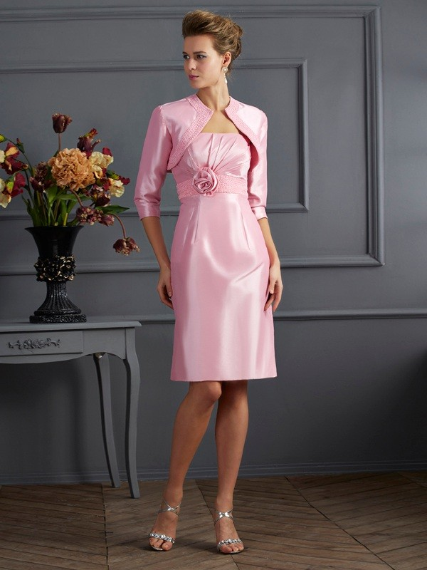 Taffeta 3/4 Sleeves Special Occasion Wrap